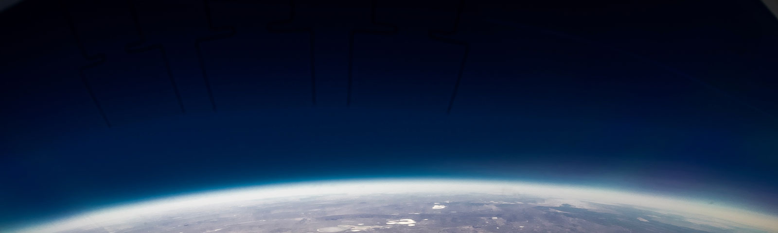Earth from orbit