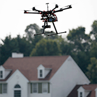 Drone-Flies-In-Urban-Area-AP-200