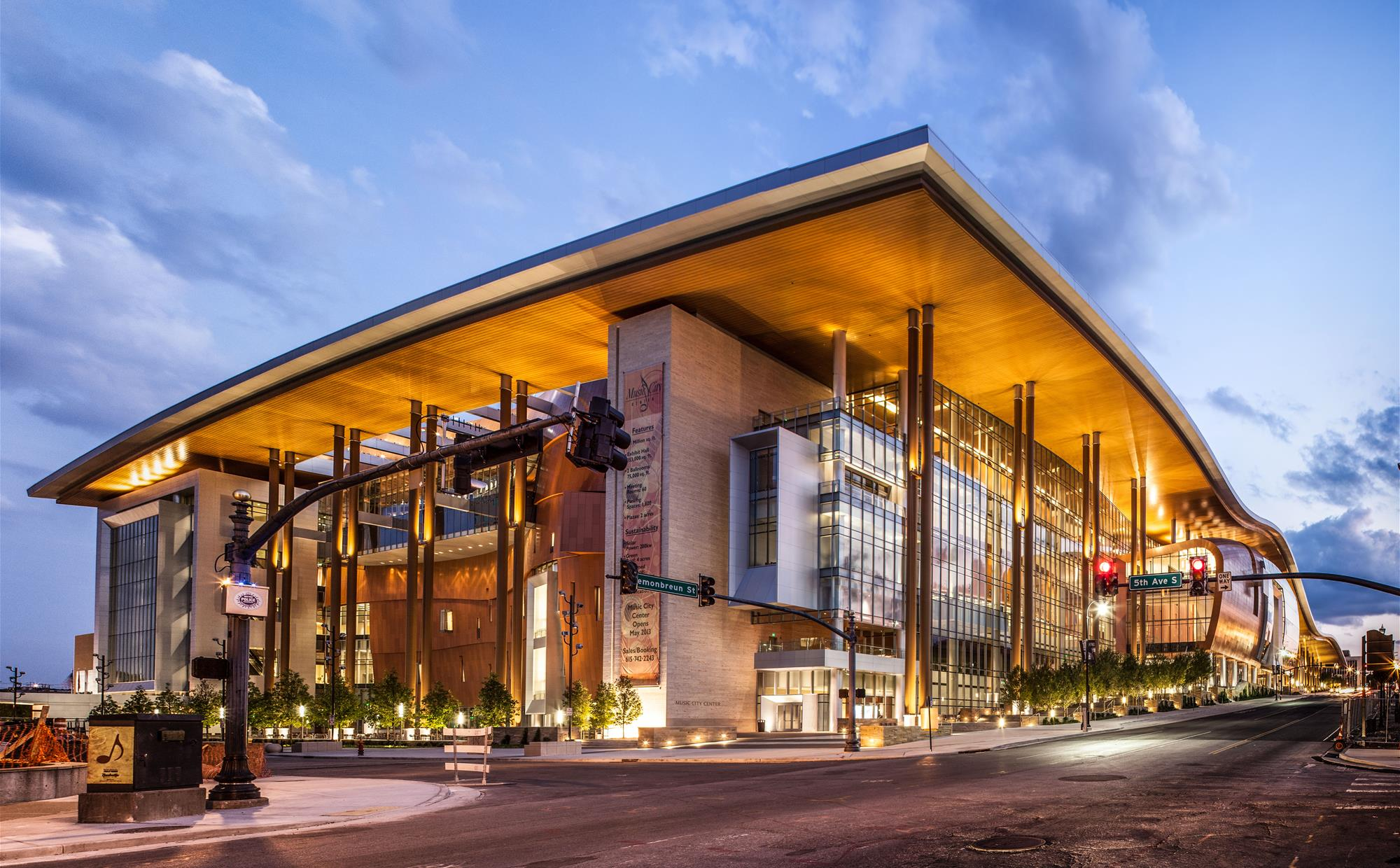 Music City Center, Courtesy of Nashville Convention & Visitors Corp
